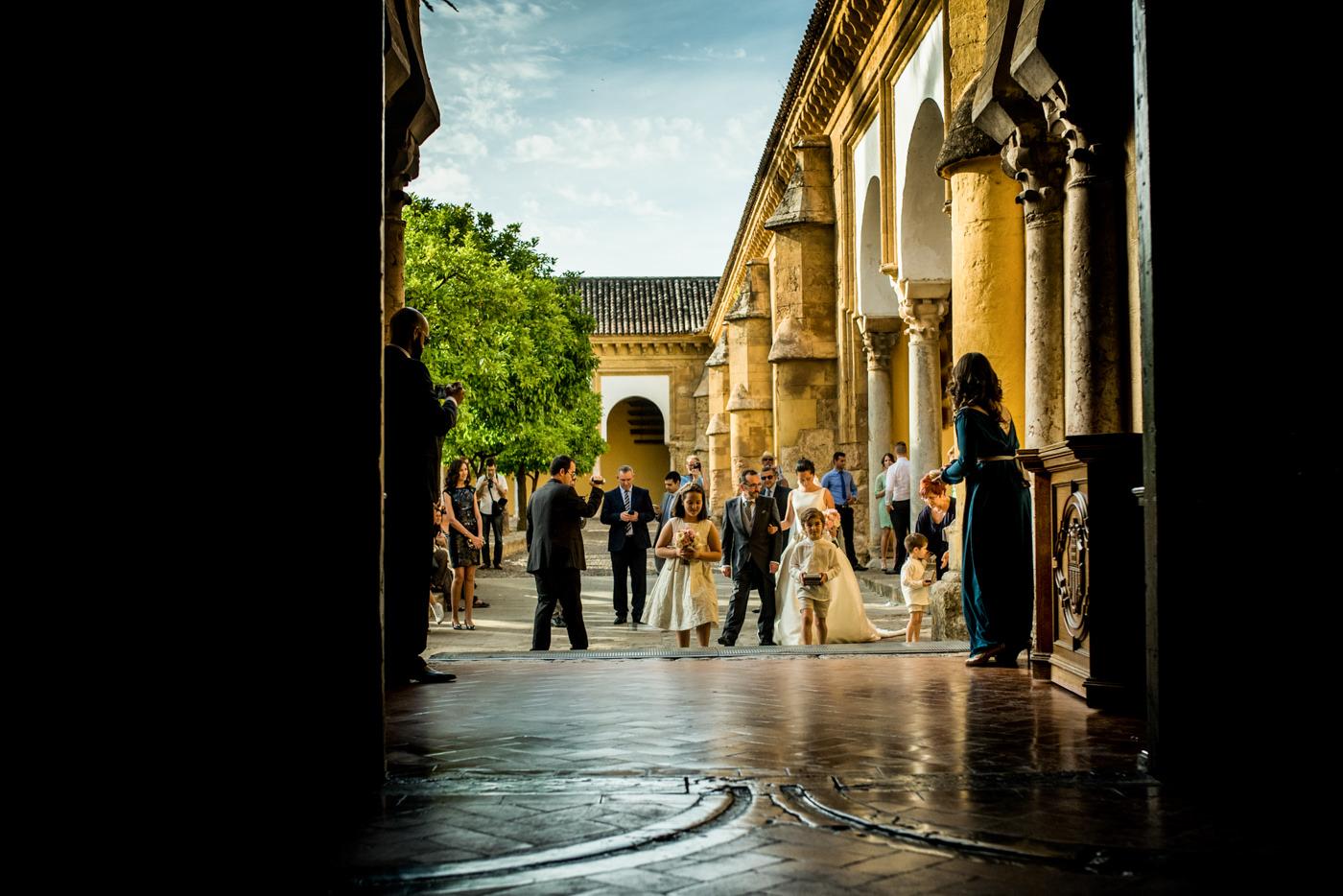 Boda en la Mezquita de Córdoba