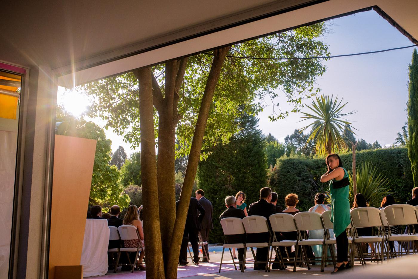 Preciosa boda en un chalet en Paracuellos del Jarama