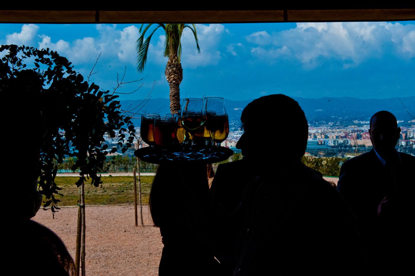 Preciosas boda civil en cortijo Torre de la Barca en Córdoba