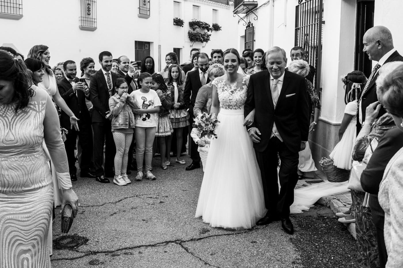 Boda civil en Granada