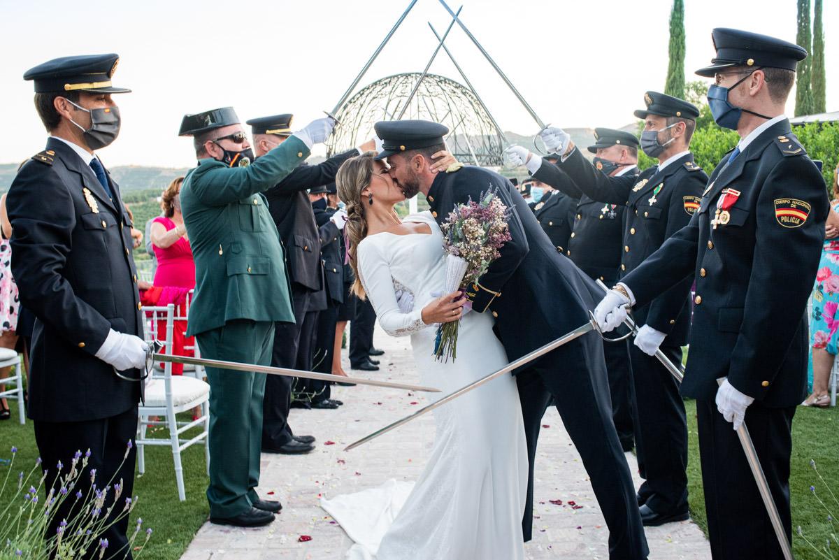 boda policia nacional