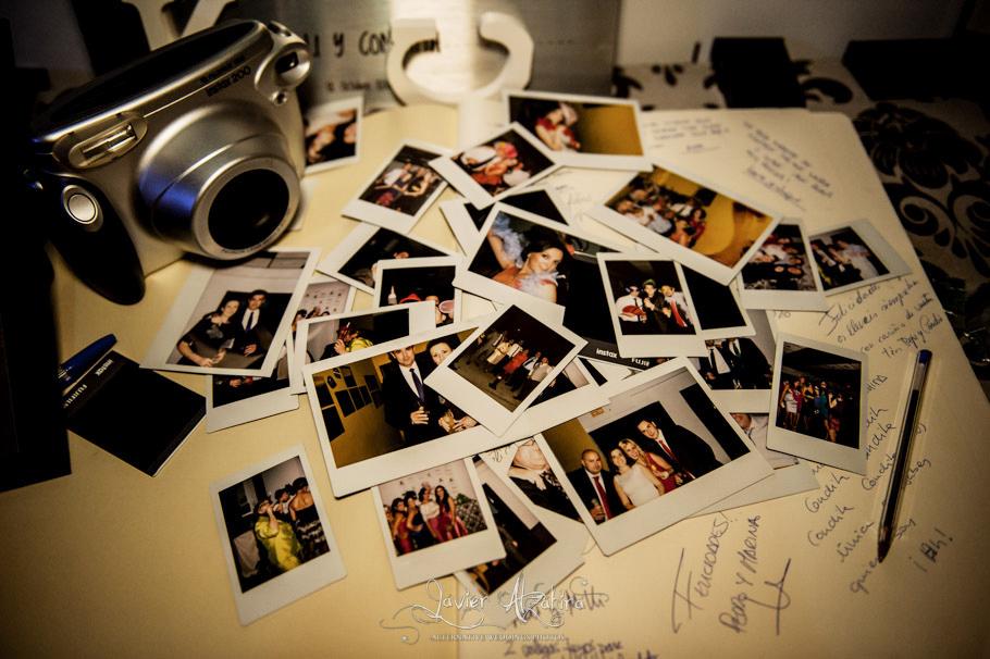 polaroids en bodas