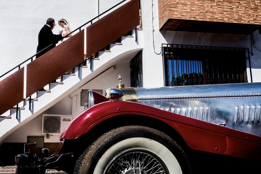 coche boda montoro